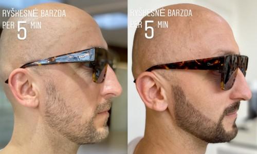 Barzdos dažymas šešėliavimas per 5min. Kur kaip geriausia dažyti barzdą?
