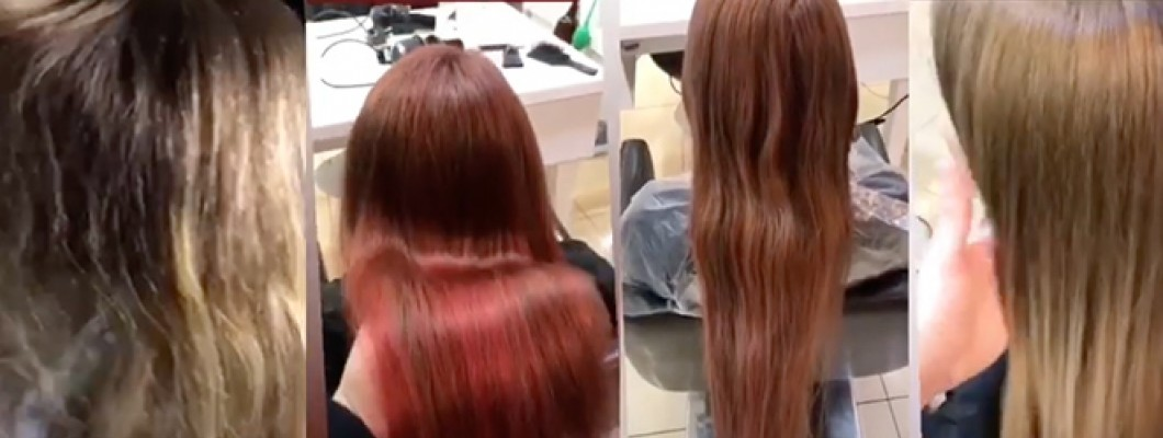 Viskas įmanoma. Ar įmanoma nusidažius plaukus vėl išeiti į natūralią spalvą?
