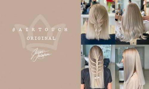 Klasikinis AirTouch original plaukų dažymas