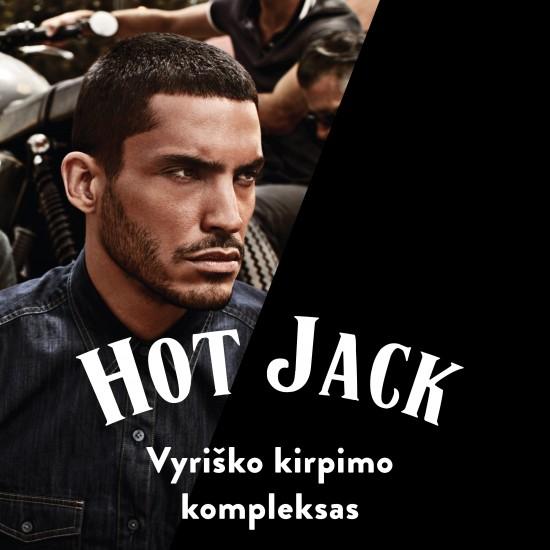 Hot Jack vyrų kirpimas procedūra
