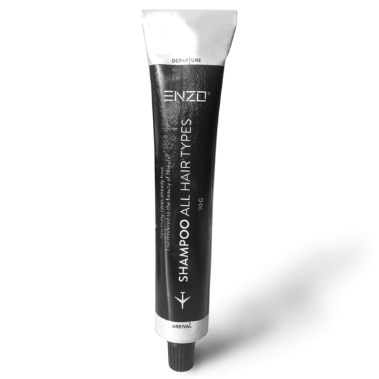 Kelioninis šampūnas visų tipų plaukams ENZO travel All Hair Types Shampoo 90 g