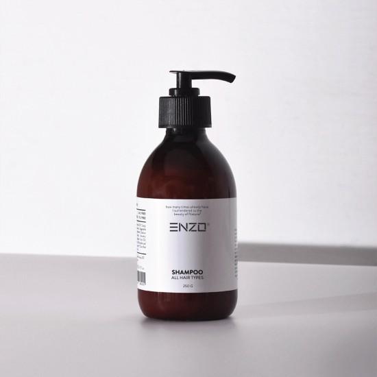 Šampūnas su Argano aliejumi visų tipų plaukams ENZO 250 g