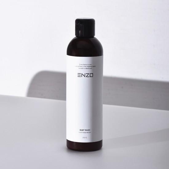 Vaikiškas šampūnas kūno prausiklis ENZO Baby Wash  250 g