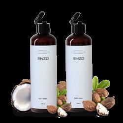 Vaikiškas šampūnas kūno prausiklis 2vnt ENZO Baby Wash  250 g