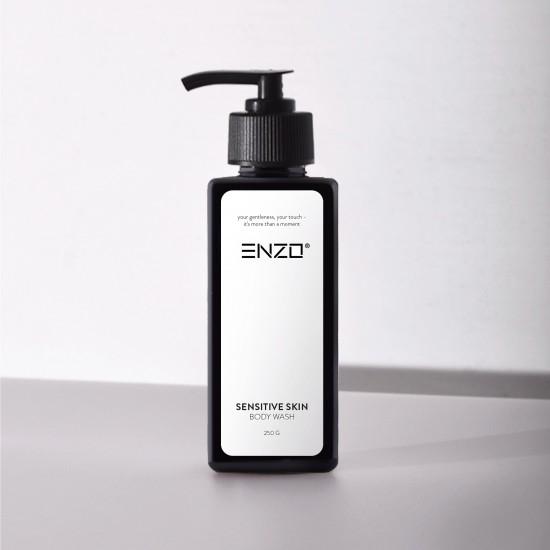 Prausiklis jautriai kūno odai Enzo Sensitive Skin Body Wash 250 g