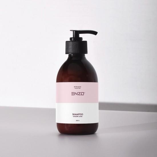 Šampūnas dažytiems plaukams ENZO Shampoo Color Care 250