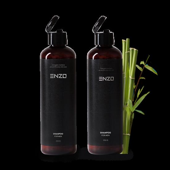 Vyriškas šampūnas 2vnt ENZO Man Shampoo 250 g
