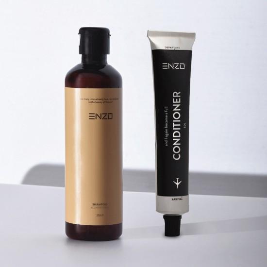 Šampūnas visų tipų plaukams + kondicionierius ENZO