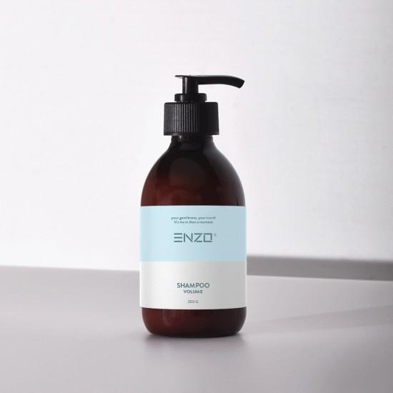 Apimties suteikiantis šampūnas ENZO Shampoo Volume 250 g